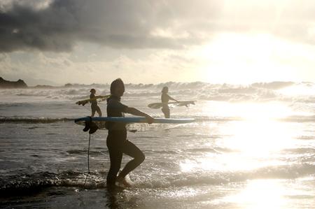SUNDOWN SURF