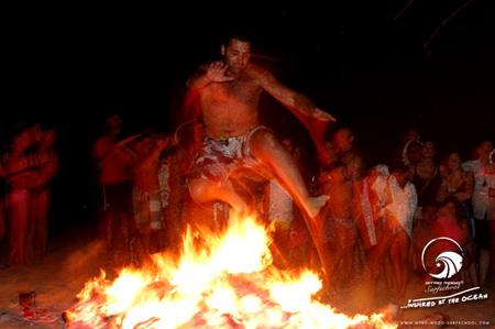 San Juan Feuerspringer