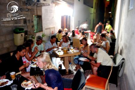 San Juan im Cafe Arena