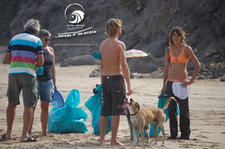 25.09.2011 Beach Cleaning La Pared