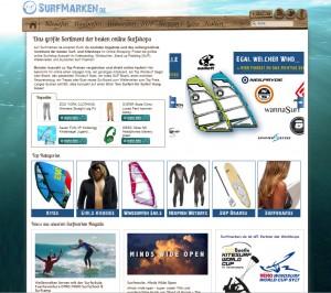 Hier findet Ihr alles zum Thema Surfen