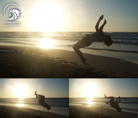 Wellenreiten Fuerteventura 24.8. bis 30.8. Sunset Salto