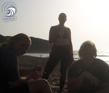 Wellenreiten Fuerteventura 24.8. bis 30.8. Sunset